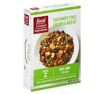 Food Network Dinner Kit Southwest-Style Chicken And Rice - 6.8 Oz