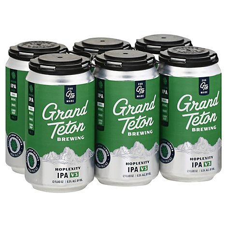 Grand Teton Hoplexity Series In Cans - 6-12 Fl. Oz.