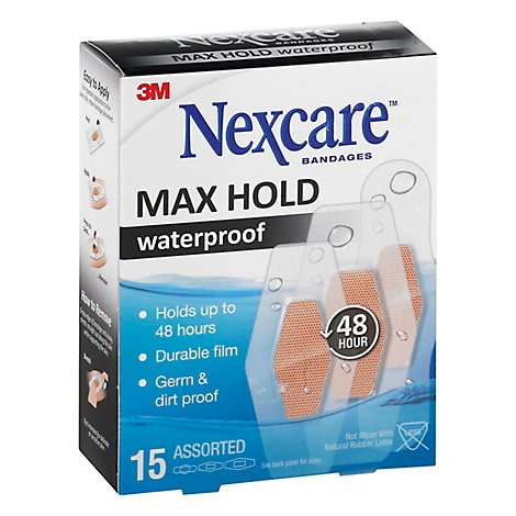 Nexcare Waterproof Bandages - 15 Count