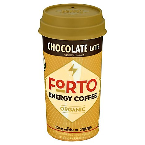 Forto Rtd Chocolate Us 325ml - 11 Fl. Oz.