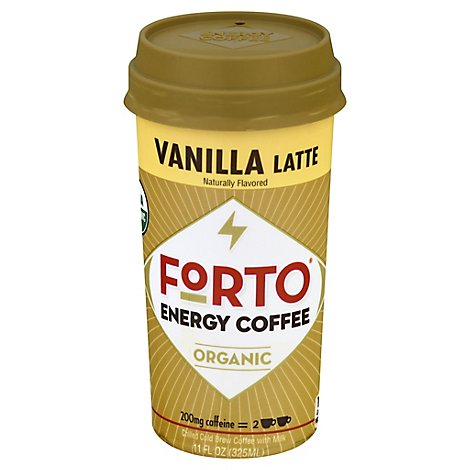 Forto Rtd Vanilla Us 325ml - 11 Fl. Oz.