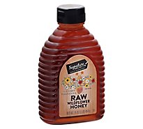 Signature Select Wildflower Honey Raw - 16 Oz