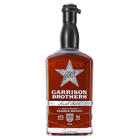 Garrison Brothers Texas Straight Bourbon Whiskey - 750 Ml