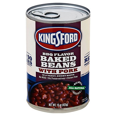 Kingsford Bbq Baked Beans With Pork - 15 Oz