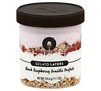 Talenti Gelato Layers Black Raspberry Vanilla Parfait - 10.7 Oz