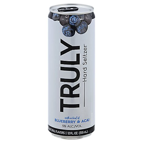 Truly Blueberry 6pk Can - 6-12 Fl. Oz.
