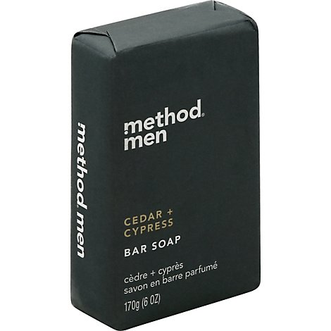Method Mens Bar Soap Cedr & Cypr - 6 Oz