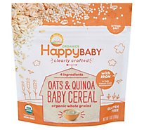 Happy Baby Clearly Crafted Ancient Grains Cereal - 7 Oz