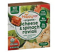 Happy Tot Love My Veggies Bowl Spinach Ravioli - 4.5 Oz