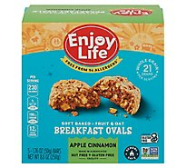 Enjoy Life Bar Brkfst Oval Apple Cin - 8.8 Oz