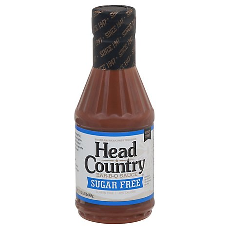 Head Country Sugar-Free Bbq Sauce - 17.5 Oz