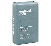 Method Men Sea N Surf Exfoliating Bar Soap - 6 Oz