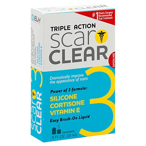 Scarclear Triple Action Scar Treatment - .50 Oz