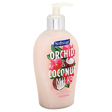 Softsoap Pump Orchid & Coconut Milk - 13 Oz