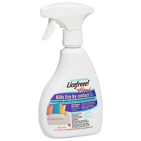 Licefreee Home Lice Treatment For Home And Furniture - 16 Oz