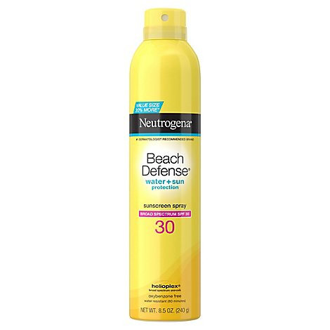 Neutrogena Beach Defense Water Resistant Spray Spf 30 - 8.5 Oz