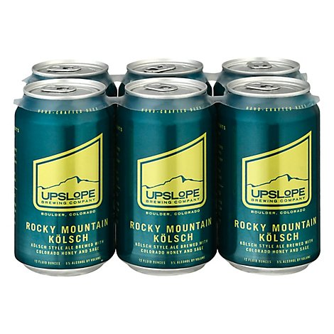 Upslope Rocky Mountain Kolsch 6pk In Cans - 6-12 Fl. Oz.