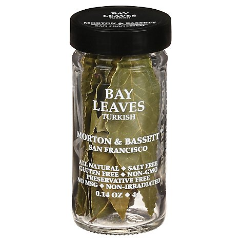 Morton & Bassett Turkish Bay Leaves - .14 Oz