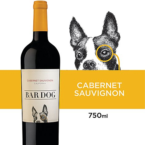 Bar Dog Cab Wine - 750 Ml