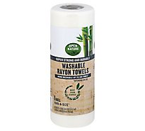 Open Nature Towel Washable Rayon Bamboo - 1 Roll