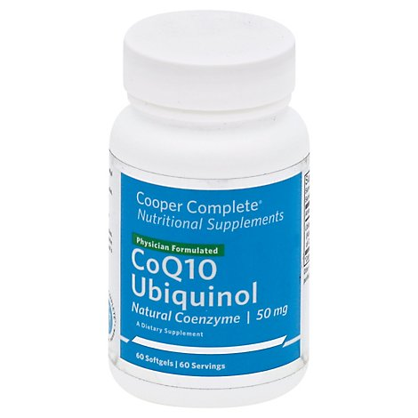Cooper Coq10 Ubiquinol 50mg - 60 Count