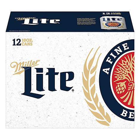 Miller Lite  Can - 12-10Fl. Oz.