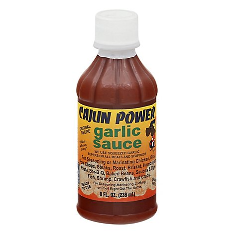 Cajun Power Garlic Sauce 8 O - 8 Oz