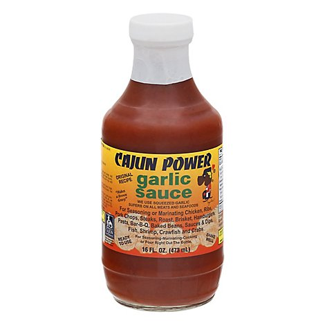 Cajun Power Garlic Sauce - 16 Oz