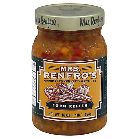 Mrs Renfros Corn Relish - 16 Fl. Oz.