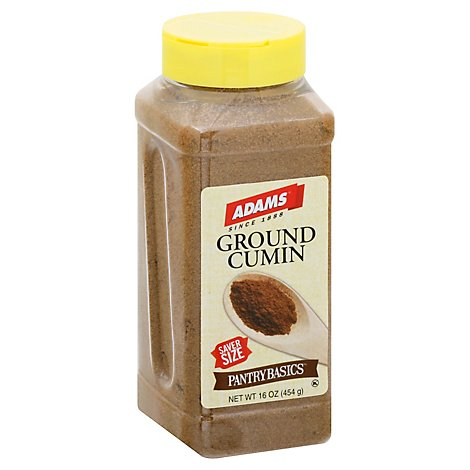 Adams Cumin Ground - 16 Oz