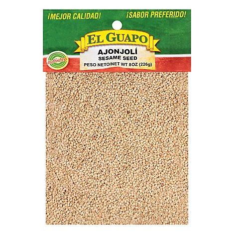 El Guapo Ajonjoli Natural - 08.00 Oz
