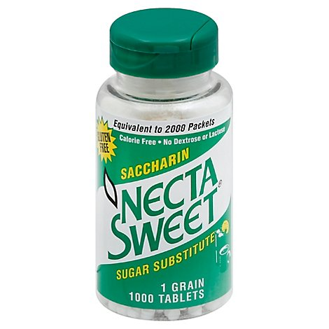 Necta Swt Sugr Sub One Grain - 1000 Count