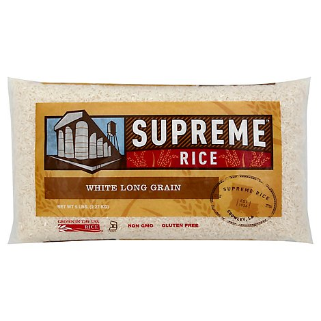 Supreme Rice Long Grain - 5 Lb