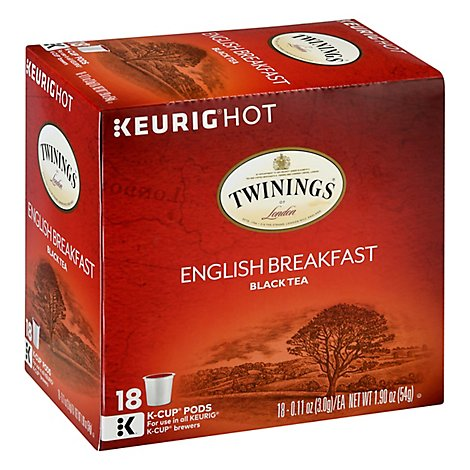 Twinings K-Cup Pure Peppermint - 12 Count