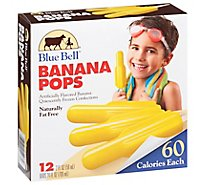 Blue Bell Banana Pops - 24 Fl. Oz.