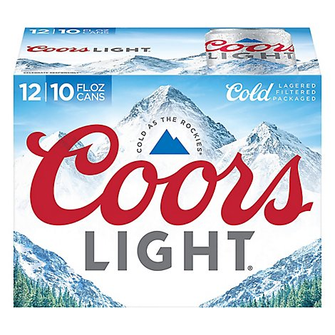 Coors Light  Can - 12-10Fl. Oz.