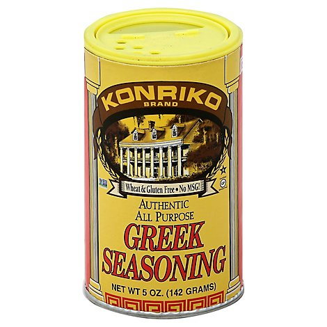 Konriko Greek Seasoning - 6 Oz