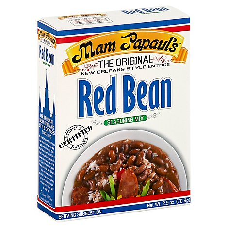 Mam Papauls Seasoning Red Bean Mix - 2.5 Oz