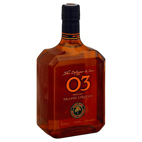 Dekuyper 03 Premium Liqueur Orange - 750 Ml