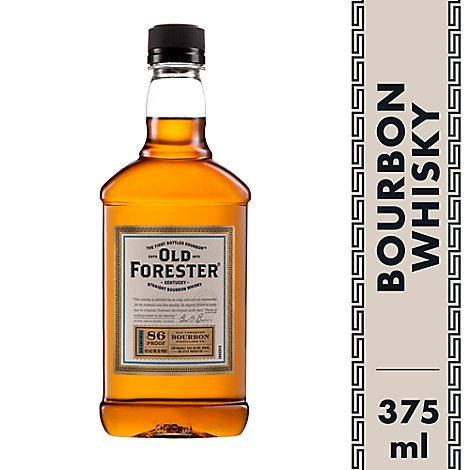 Old Forester Whiskey Kentucky Straight Bourbon 86 Proof - 375 Ml