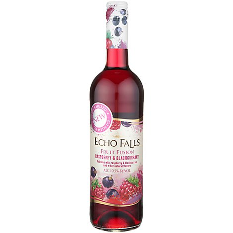 Echo Falls Raspberry & Cassis Wine - 750 Ml