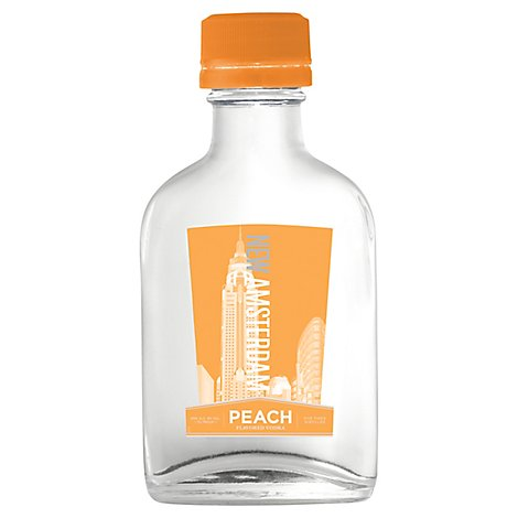 New Amsterdam Vodka Peach Flavored - 100 Ml