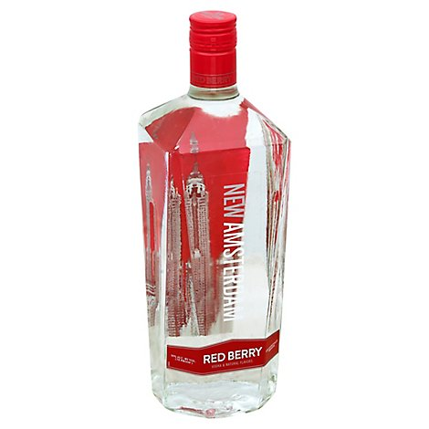 New Amsterdam Red Berry Flavored Vodka 70 Proof - 1.75 Liter