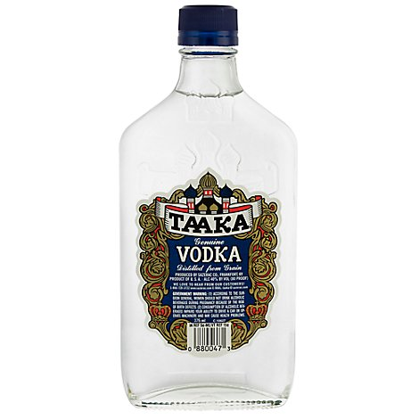 Taaka Vodka 80 Proof - 375 Ml