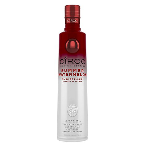 CIROC Vodka Watermelon 70 Proof Lto - 750 Ml