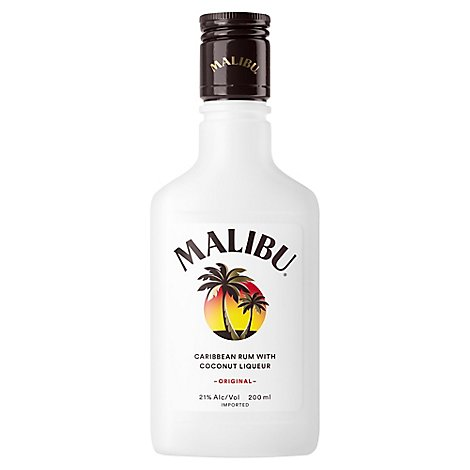 Malibu Coconut Flask - 200 Ml