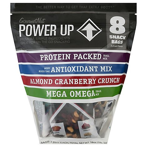 Power Up Trail Mix Assrtd - 18 Oz