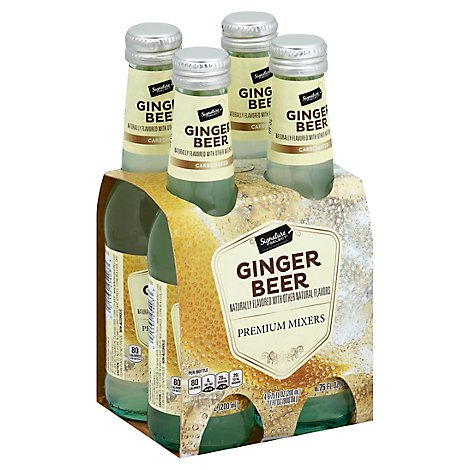 Signature Select Ginger Beer - 4-6.75 Fl. Oz.