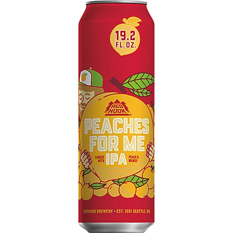 Redhook Peaches For Me Ipa In Cans - 19.2 Oz