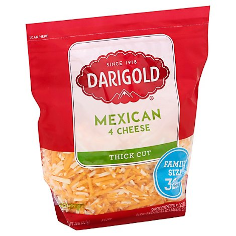 Darigold Shredded Mexican Cheese Blend - 32 Oz
